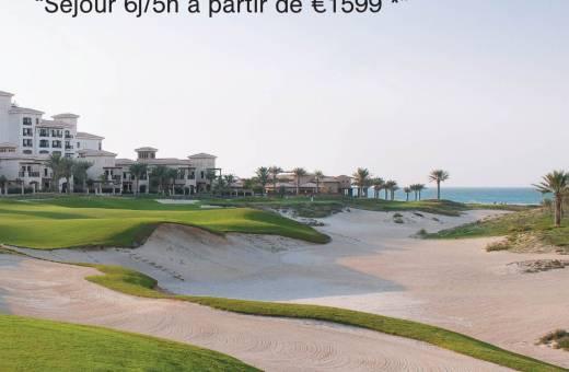 Trouvez la campagne Pub ABU DHABI sur les golfs de France et gagnez  des Cadeaux !!