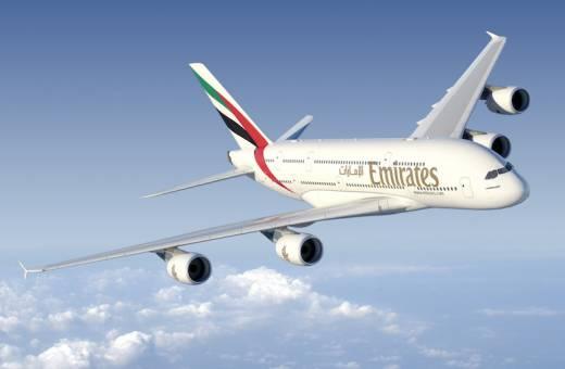 L'A380 d'Emirates arrive à l'aéroport de Nice !!!