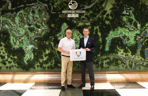 Le Golf National, site de la Ryder Cup 2018, signe un partenariat avec Mission Hills Chine, le plus grand club de golf au monde !