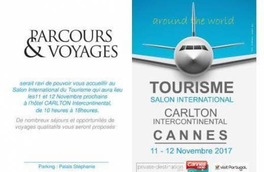 Venez nous rencontrer au Salon International du Tourisme à Cannes