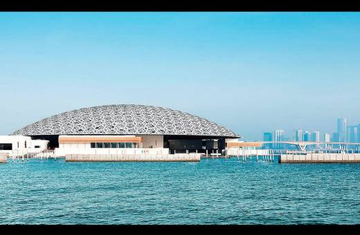 Le Louvre Abu Dhabi ...C'est ouvert