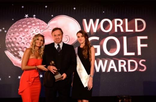 Parcours & Voyages remporte l'Award du meilleur Tour Opérateur de Golf
