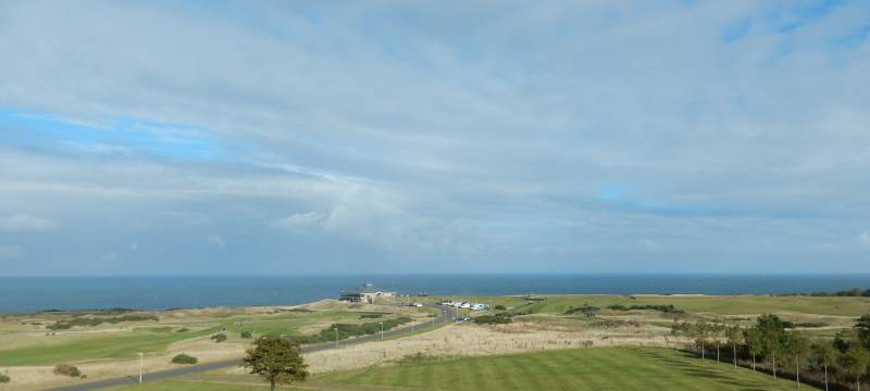 J'ai réalisé le rêve de tout golfeur (ou presque) je suis allée en Ecosse et en plus à Saint Andrews