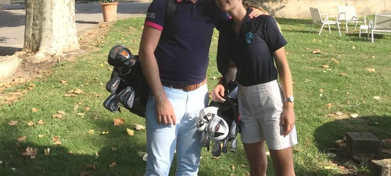 Nouveau membre dans l'équipe Parcours & Voyages, futur golfeur !