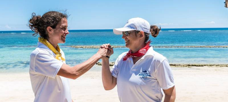Justine de retour de la Beachcomber Aventure 2019