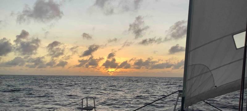 Vibrations au milieu de l'Atlantique Nord