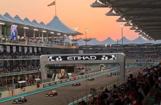 PARTEZ GOLFER A ABU DHABI  DURANT LE GRAND PRIX DE F1 !