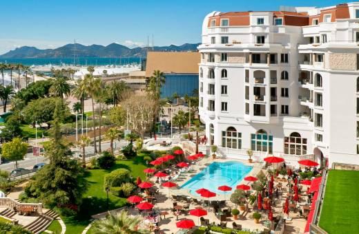 COTE D'AZUR - CANNES - HOTEL MAJESTIC BARRIÈRE  5*Luxe!