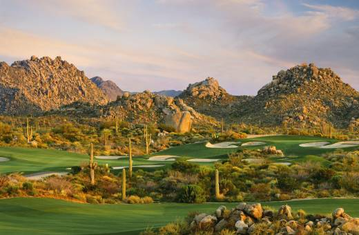 Troon North Golf Club   Pinnacle Course