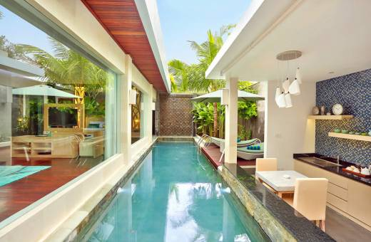 The Leaf Jimbaran Bali Luxurious Villa & Spa