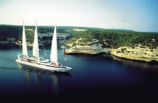 Golf en Méditerranée à bord du Ponant
